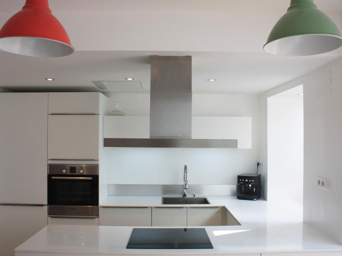 Plan de cuisine bois ilot de cuisine bois et zinc fort de - Plan de travail central cuisine ikea ...