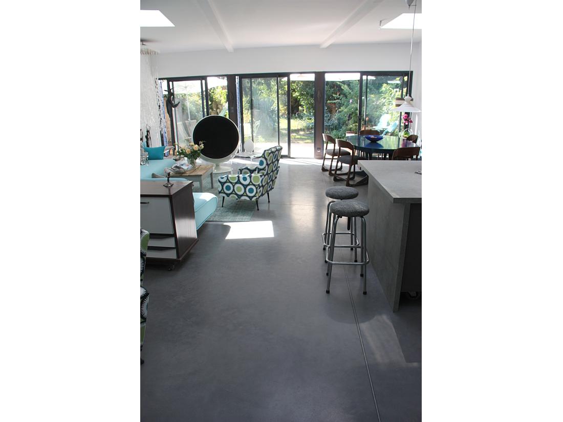 Domoko extension domoko for Terrasse en beton lisse