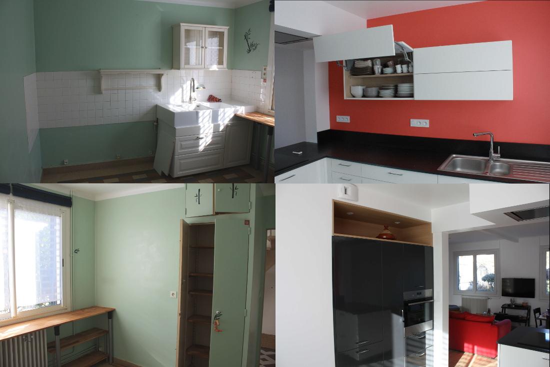 sol cuisine ouverte with sol cuisine ouverte. Black Bedroom Furniture Sets. Home Design Ideas