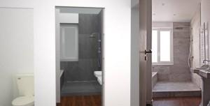 Avant/après salle de bain